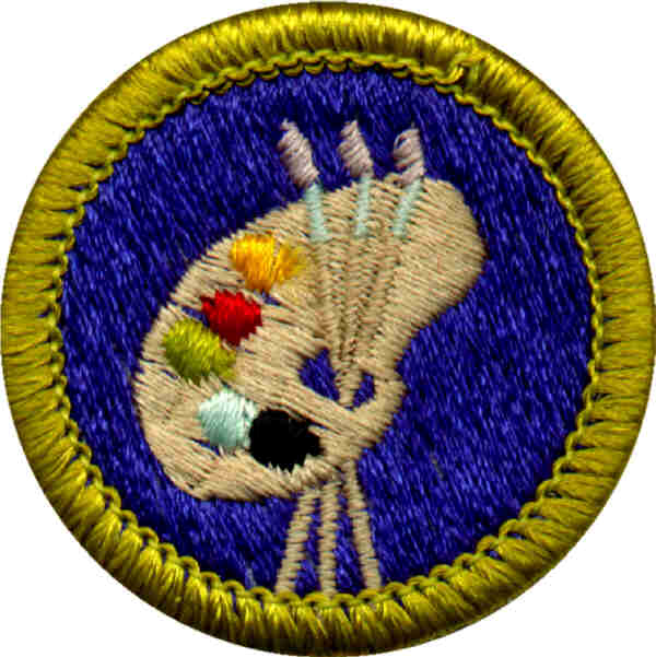 The Art Merit Badge Boy Scout Troop 131 McHenry ILBoy